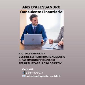 Alex D'Alessandro Consulente Finanziario