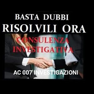 Ac 007 investigazioni